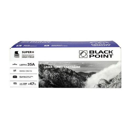 Black point Toner hp cb435a czarny 2.2k bp super+