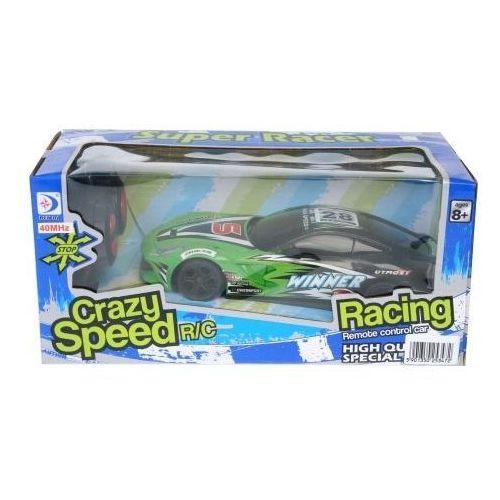 Auto wyścigowe zdalnie sterowane wyprodukowany przez Mega creative