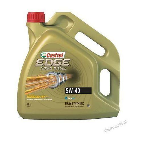 Syntetyczny Olej silnikowy CASTROL EDGE TURBO DIESEL 5W40 4L