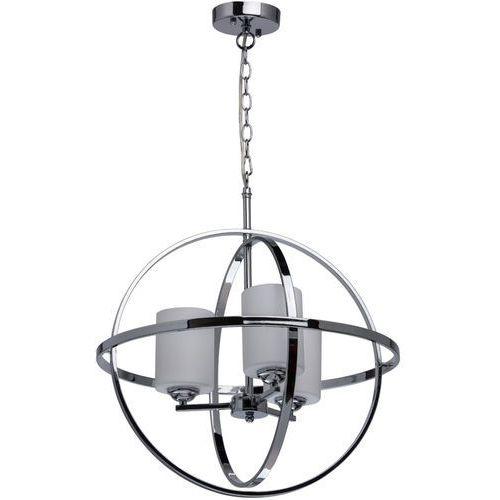 Lampa wisząca industrial chromowana kula na 3 żarówki loft (285010303) marki Mw-light