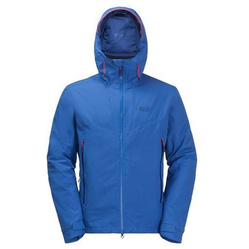 Kurtka 3w1 vermillion pass men - coastal blue, Jack wolfskin
