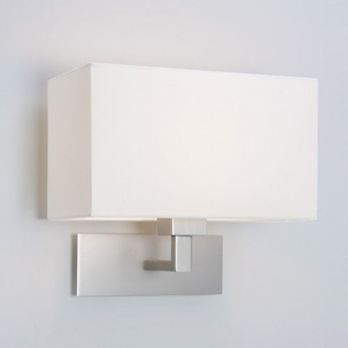 kinkiet PARK LANE WALL LIGHT MATT NICKEL ŻARÓWKA LED GRATIS!, ASTRO LIGHTING 0763