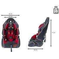 Fotelik samochodowy 9-36 kg KinderSafe Pro Comfort GE-G - Czerwony (5902921964582)