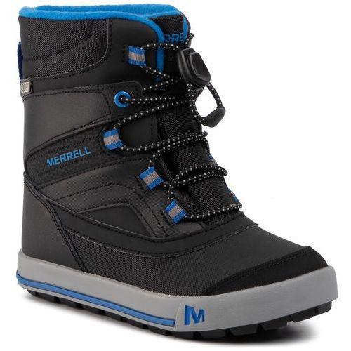Śniegowce MERRELL - Snow Bank 2.0 Wtrprf Bk MK262105 Black