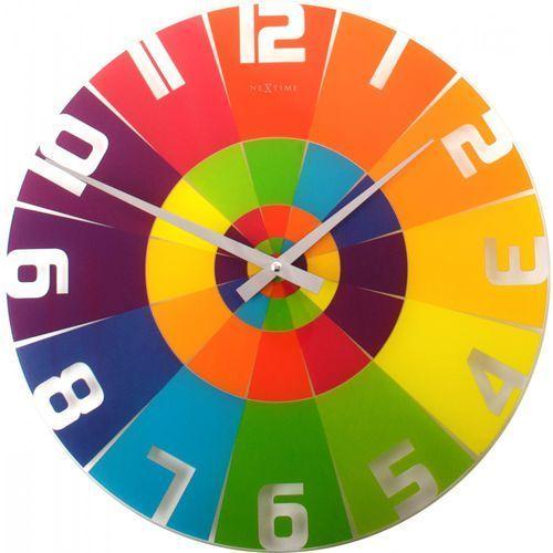 Zegar ścienny Rainbow Nextime 43 cm (8129)