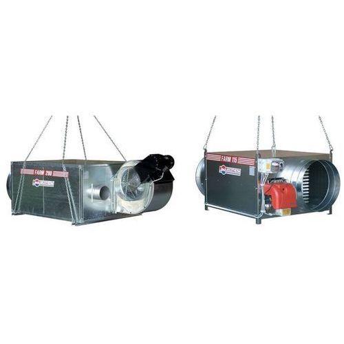 Nagrzewnica gazowa z odprowadzaniem spalin FARM 115 T, FARM 115 T