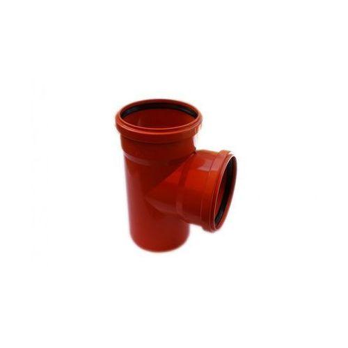 Poliplast Trójnik kanalizacji zewnętrznej 160 x 160 mm/90°