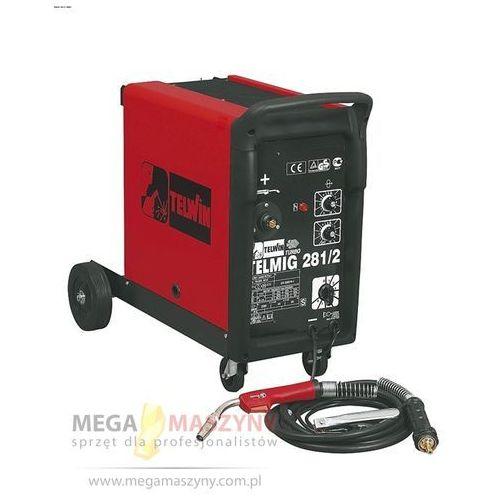 TELWIN Półautomat mig/mag jednofazowy Telmig 281/2 + akcesoria