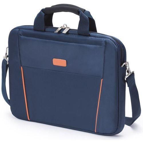 Dicota  slim case base 12 - 13,3'' (niebiesko-pomarańczowy)