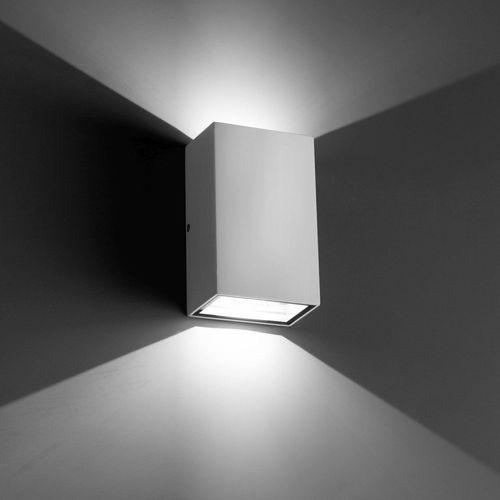 Faro Ling Zewnętrzny kinkiet LED Biały, 2-punktowe - Nowoczesny - Obszar zewnętrzny - Ling - Czas dostawy: od 10-14 dni roboczych (8421776063082)