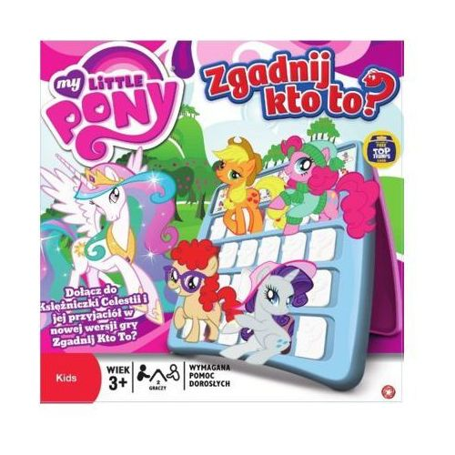 Winning moves Hasbro zgadnij kto to? my little pony - darmowa dostawa od 199 zł!!!