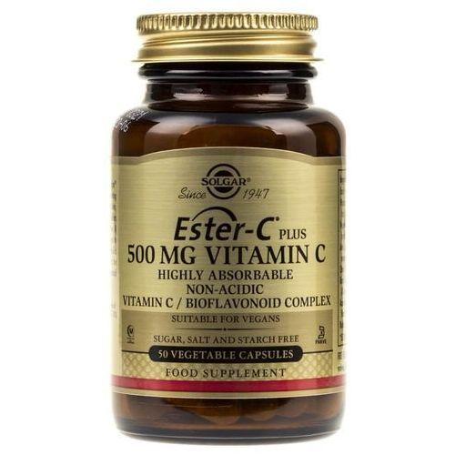 Kapsułki Solgar Ester C Plus – 500 mg Witaminy C - 50 kapsułek