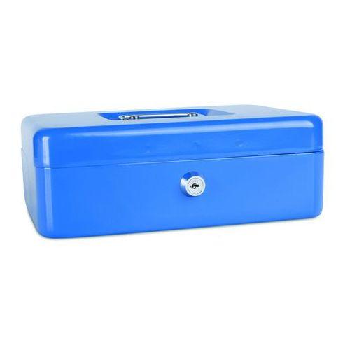 Kasetka na pieniądze , duża, 250x90x180mm, niebieska marki Donau