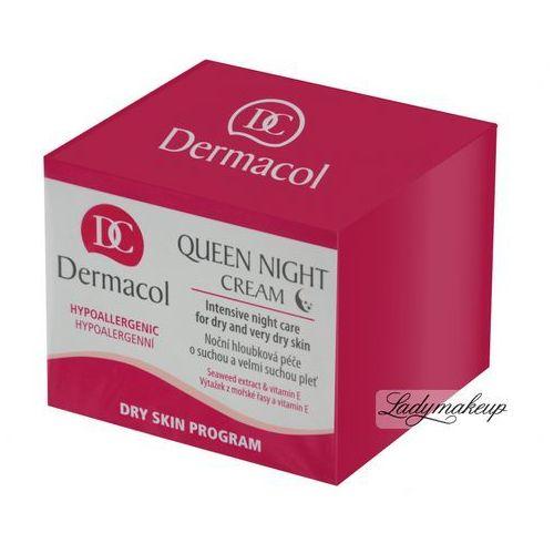 Dermacol - Queen Night Cream - Krem rewitalizujący na noc - ODŻYWIENIE I REGENERACJA - produkt z kategorii- Kremy na noc