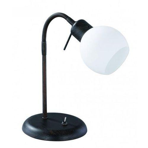 Trio -leuchten freddy lampa stołowa led ciemnobrązowy, rudy, 1-punktowy - dworek/vintage - obszar wewnętrzny - freddy - czas dostawy: od 3-6 dni roboczych (4017807257885)