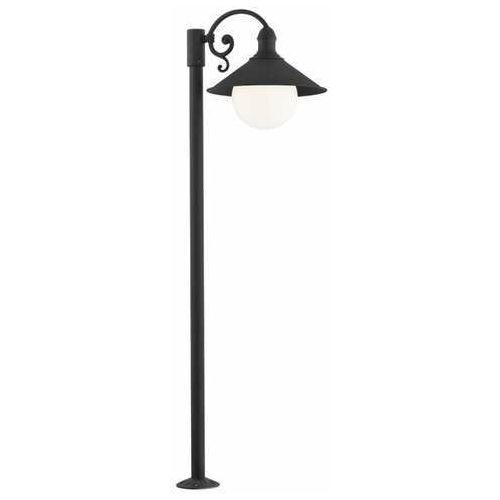 Lampa stojąca Argon Erba 3284 bis zewnętrzna 1X60W E27 IP44 czarna >>> RABATUJEMY do 20% KAŻDE zamówienie!!!