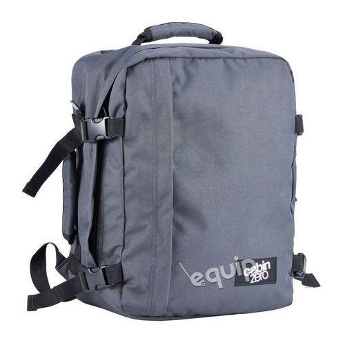 Plecak torba podręczna CabinZero mini + pokrowiec organizer gratis - original grey, kolor szary