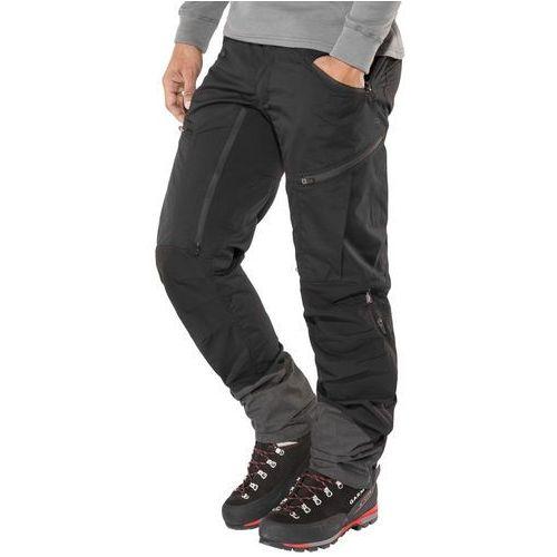 Lundhags Makke Spodnie długie Mężczyźni czarny 46-długie 2017 Spodnie i jeansy, jeans
