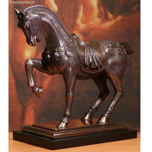 Koń na podstawce Ogier prezent dla Ojca
