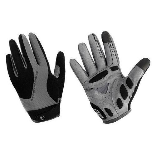 610-80-55_acc-xl rękawiczki z długimi palcami champion czarno-szare xl marki Accent