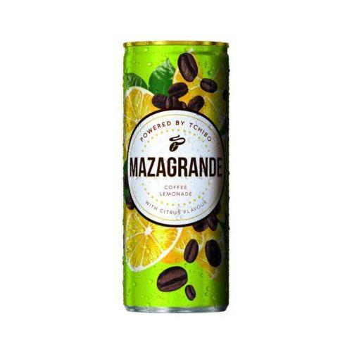 Mazagrande 250ml napój gazowany z ekstraktem kawy o smaku cytrynowym marki Tchibo