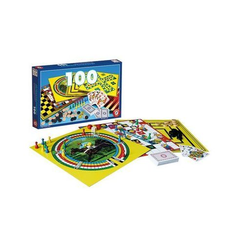 Piatnik Zestaw 100 gier (9001890630644)