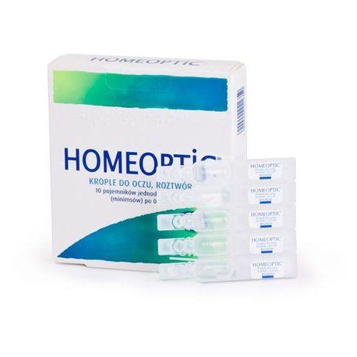 Homeoptic 0,4 x 10 minimsów - data ważności 30-06-2018r. marki Boiron