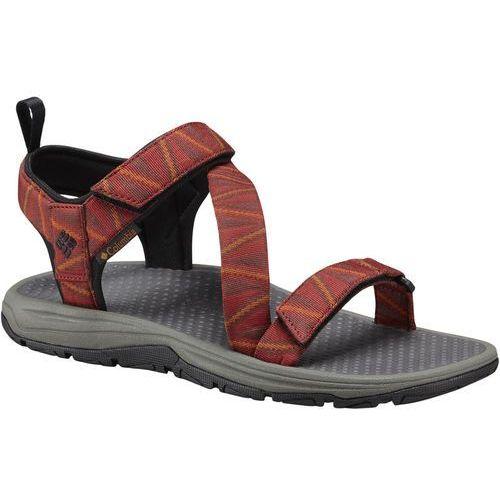 wave train sandały mężczyźni czerwony us 12 | 45 2018 sandały codzienne marki Columbia