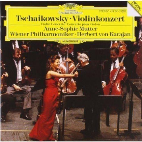 Tchaikovsky:vln cto d - mutter wp karajan (płyta cd) marki Deutsche grammophon