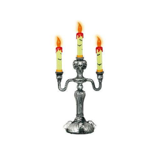 Guirca Dekoracja stołu świecznik na halloween led - 40 cm