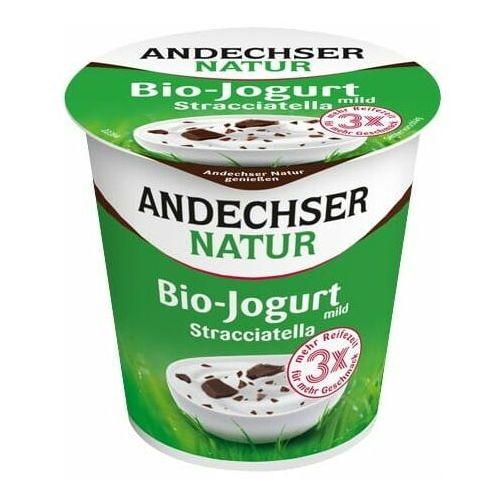 Jogurt stracciatella 3,7% bio 150 g natur marki Andechser