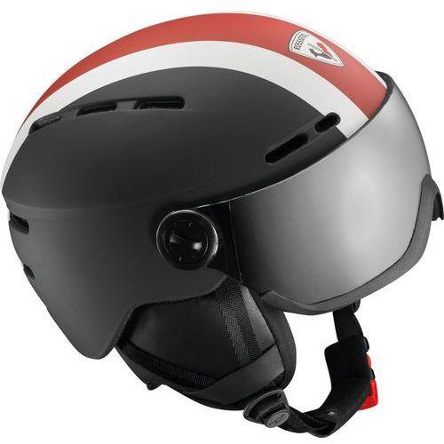 visor kask czarny l/xl 2018 kaski narciarskie marki Rossignol
