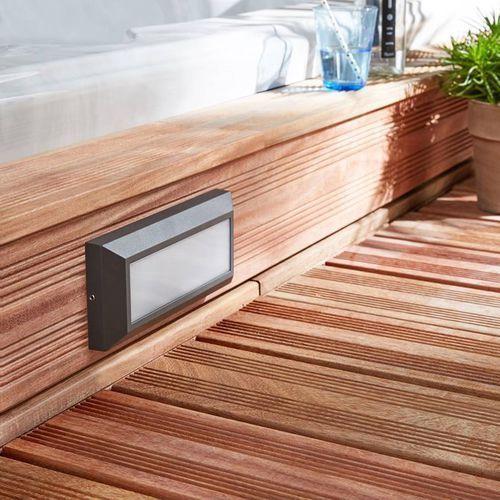 Inspire Bronson - applique d'extérieur led aluminium l23cm- (3276000324386)