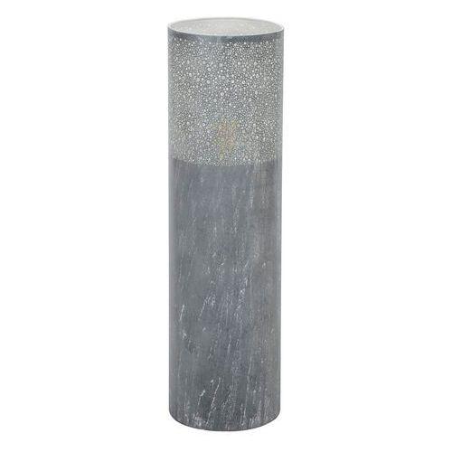 Gerverscop lampa stojąca siwy, 1-punktowy - vintage/przemysłowy - obszar wewnętrzny - gerverscop - czas dostawy: od 3-6 dni roboczych marki Hofstein