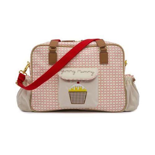 Pink lining torba do wózka yummy mummy, różowy/szary (5060434620187)