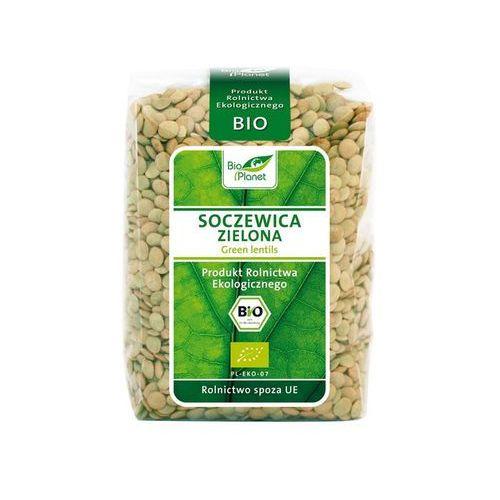 Bio Planet: soczewica zielona BIO - 400 g - produkt z kategorii- Ziarna i strączkowe