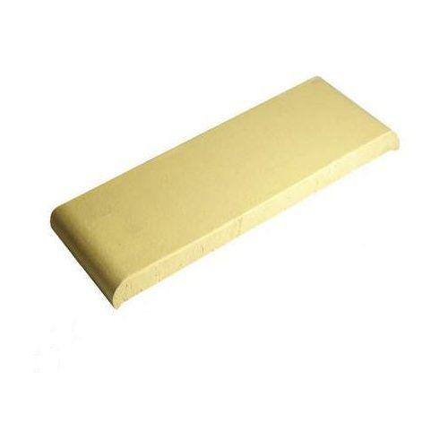 Gołowczyński Kształtka płaska z kapinosem kp30k kolor żółty naturalny 305x110x25 mm