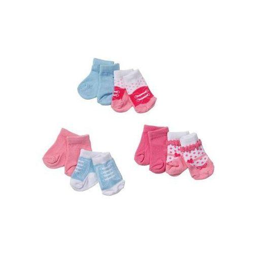 Skarpetki Baby dla lalek 2 opakowania, 69913003574ZA (2061123)