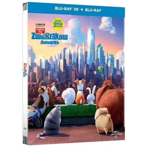 Sekretne życie zwierzaków domowych. Stellbook. Blu-Ray 3D