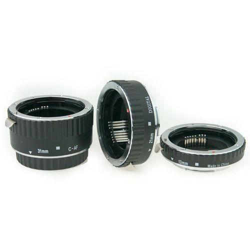 Phottix zestaw 3 pierścieni makro z Auto-Focus do Canon (61250) Darmowy odbiór w 20 miastach!, Canon
