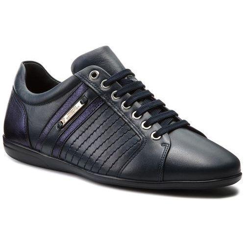 Sneakersy VERSACE COLLECTION - V900421 VM00377 V968N Blu Scuro/Blu Scuro, kolor niebieski