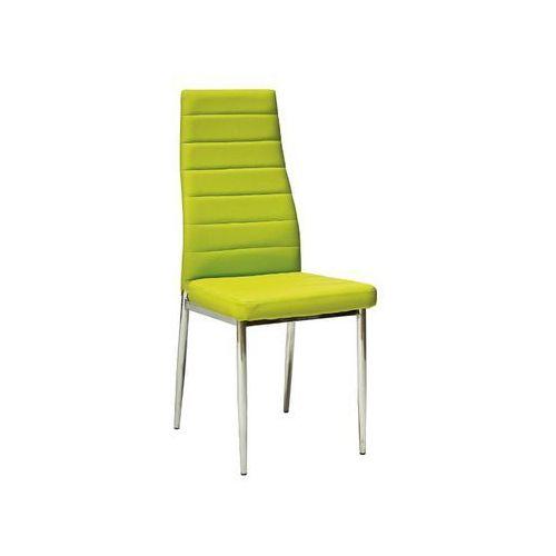 Krzesło H-261 Chrom Zielony