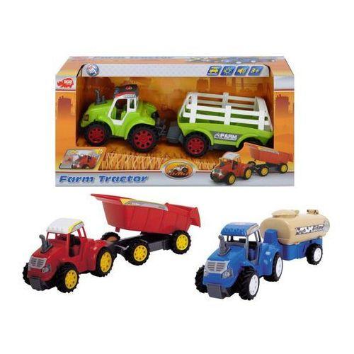 Zabawka DICKIE Traktor Farm Z Przyczepą - produkt z kategorii- Traktory