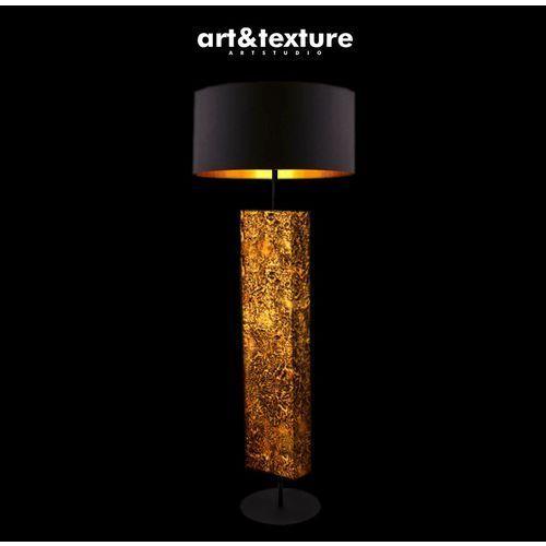 Miedziane art deco - modna lampa podłogowa w stylu eklektycznym