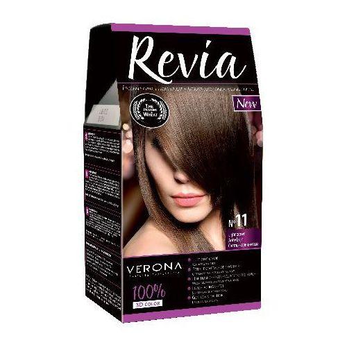 Verona  revia farba do włosów - 11 jasny brąz (5907619857467)