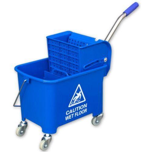 Wiadro na kółkach do mycia podłóg z wyciskarką wiaderko na kółkach do sprzątania, wózki do sprzątania marki Linea