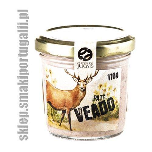 Portugalskie pate z jelenia 110g z kategorii Konserwy i pasztety mięsne