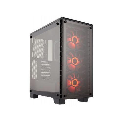 CORSAIR Crystal Series 460X RGB Compact ATX Mid-Tower Case CC-9011101-WW