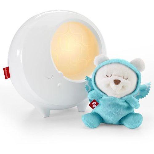 Fisher price lampka nocna projektor butterfly dreams, 2 w 1, biała