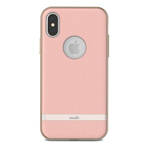 Moshi Vesta - Etui iPhone X (Blossom Pink) (4713057252624)